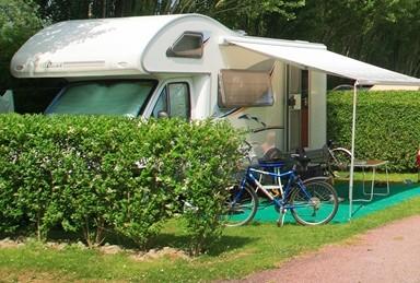 Aire stationnement camping car Mont Saint Michel